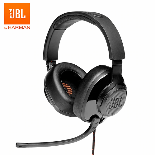 JBL Quantum 300 Wired Over-Ear Gaming Headset Flip-Up Mic Foldable Headphone