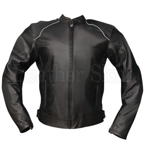 Black Jacket Biker Leather Jacket