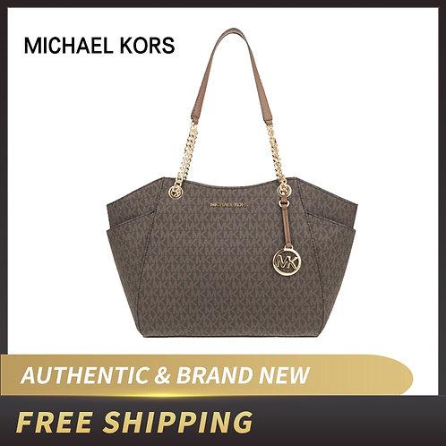 Michael Kors Women's Bag Jet Set Travel Large Chain
