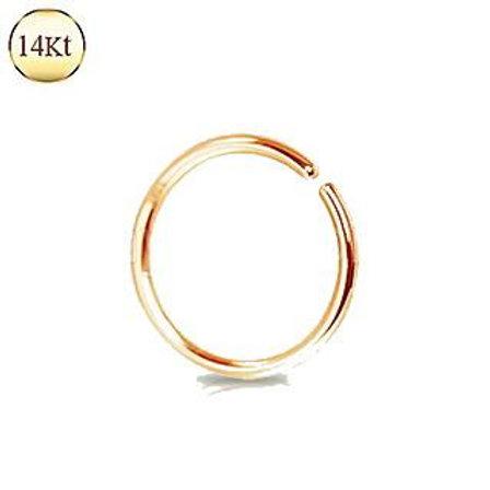 14Kt. Rose Gold Seamless Ring
