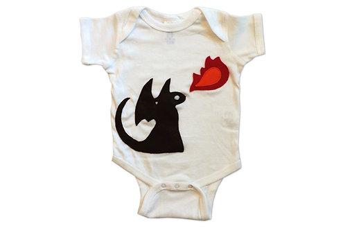 Fire Dragon Infant Bodysuit