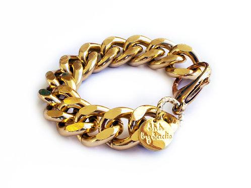 Chunky Chain Bracelet - Gold