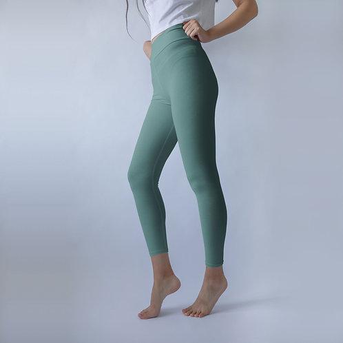 High Rise Deep Teal Yoga Leggings