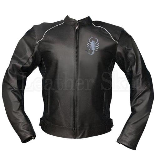 Scorpion Black Rider Leather Jacket