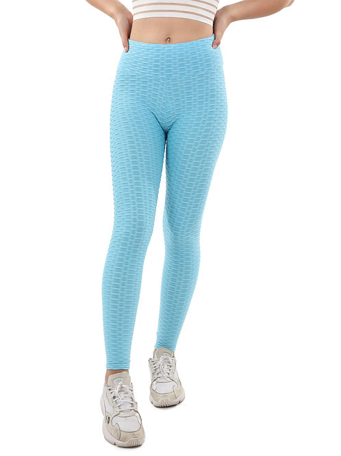Bentley Leggings - Aqua