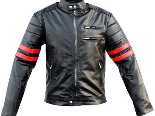 Men Xmen Genuine Leather Jacket