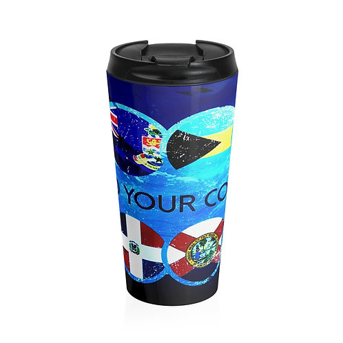 Destinations Stainless Steel Travel Mug