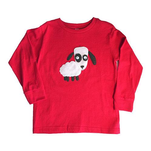 Kids Long Sleeve T-Shirt -Lips - Mi Cielo X Matthew Langille