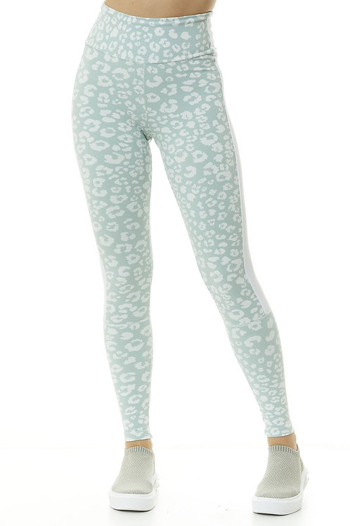 Mint Animal Print Legging