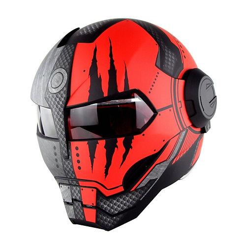 SOMAN 515  Iron Man Motorcycle Helmet