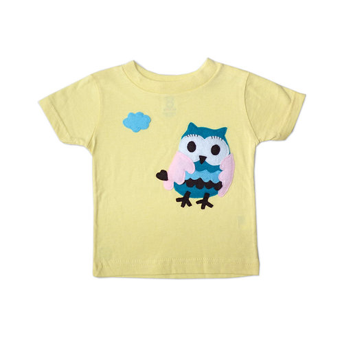 Kids T-Shirt - 3D Flying Owl