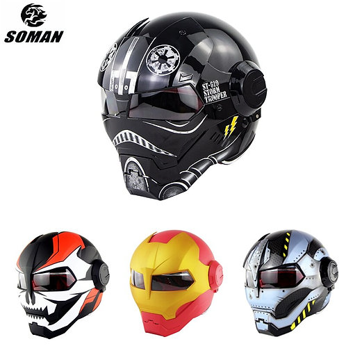 Soman Casco Iron Man War Machine Helmets Cool Personalized Ironman Casque