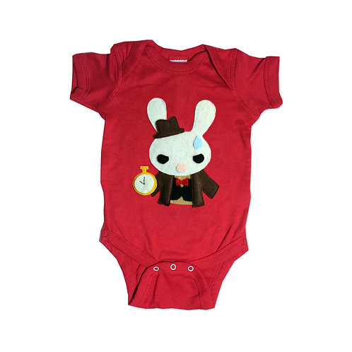 The White Rabbit - Alice's Adventure in Wonderland - Infant Bodysuit