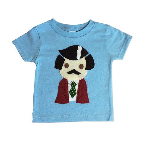 Stay Crafty... Burgundy Jacket Man - Kids Toddler Shirt