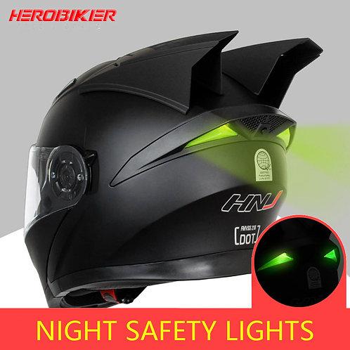 HEROBIKER Motorcycle Helmet Motorbike Modular Dual Lens Helmet Motorcycle