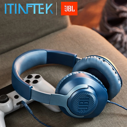 JBL QUANTUM100 Gaming Headset 7.1 With Mic Microphone Foldable Headphones