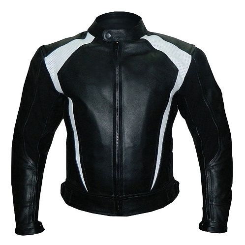 Black Biker Genuine Leather Jacket