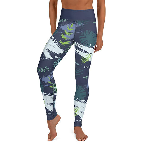 Tropical Jungle Yoga Leggings