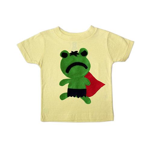 Kids Superhero Shirt - Team Super Animals - Hopper Froggy