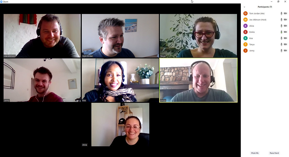MTS Remote Team Meeting