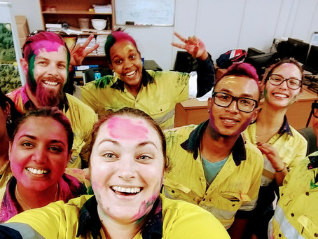 MTS Takes Part in Holi Celebrations in Suriname
