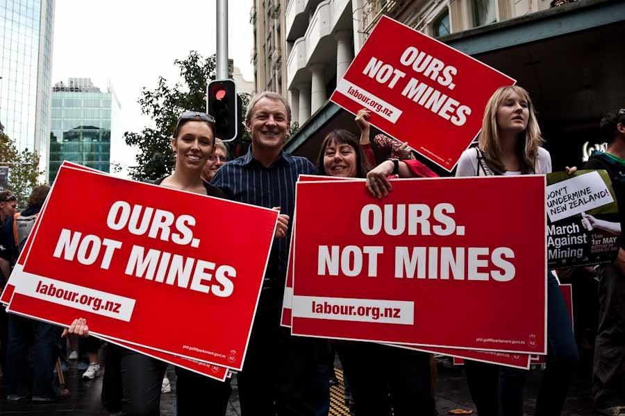 Mining Protests