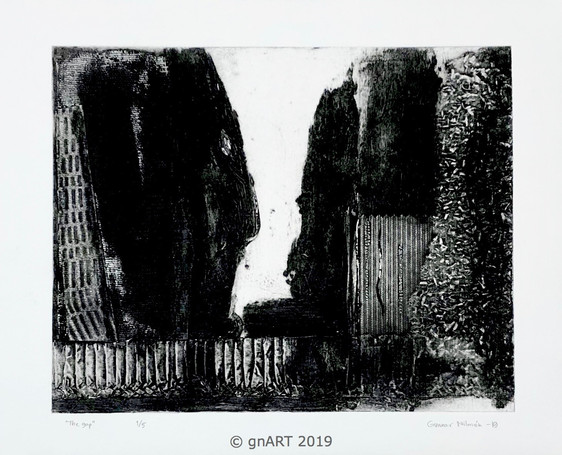 """The Gap"" - 30x24cm"