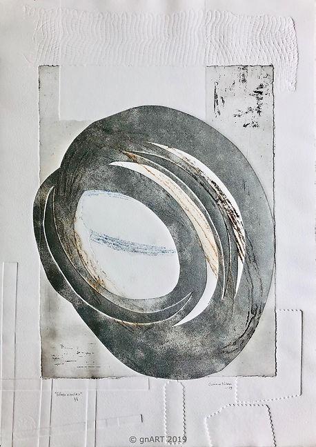 """Silver circles"" - edition 1/1"