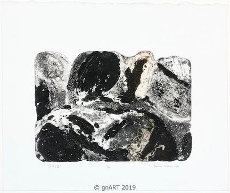 """Stones II"" - ca 35x25cm"