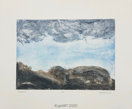 """Cloudy view II"" - 35x25cm"