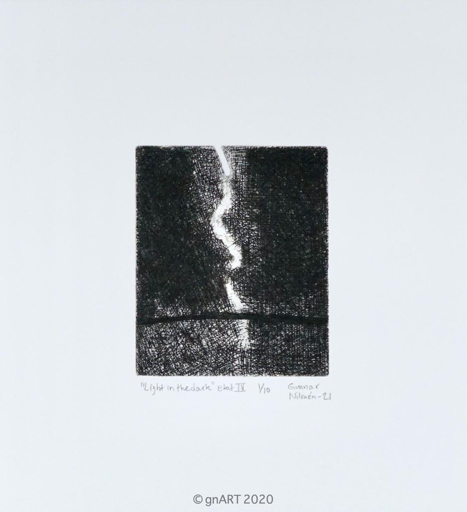 """""""Light in the dark"""" etat IV - MiniPrint"""