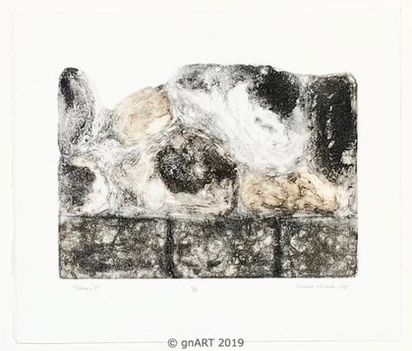 """""""Stones I"""" - ca 35x25cm"""