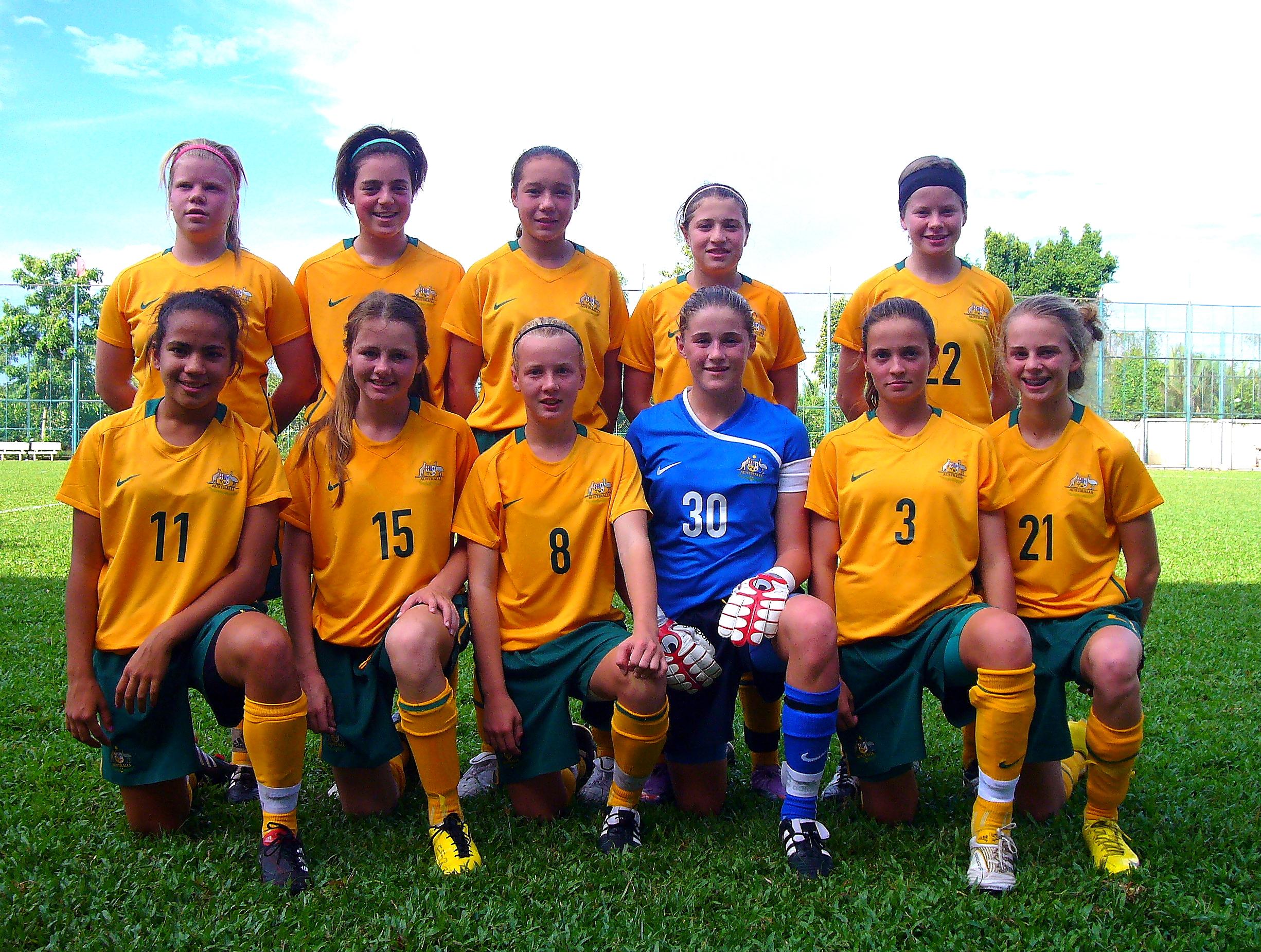 Teagan Micah - Aust U13 Team
