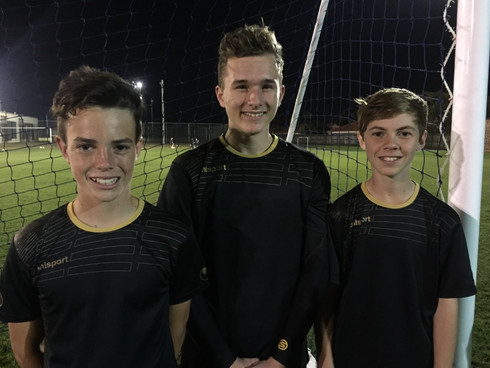ACADEMY KEEPERS SELECTED IN WIDE BAY TEAMS