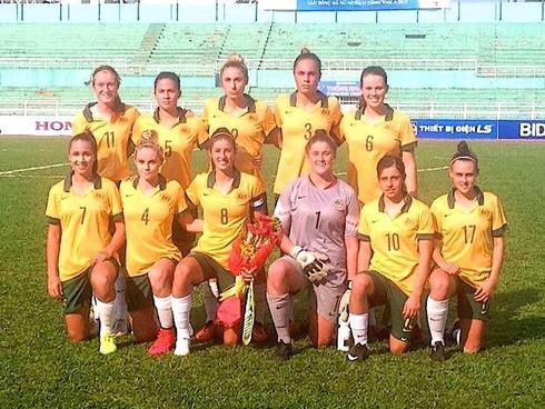 TEAGAN MICAH IN WESTFIELD YOUNG MATILDAS SQUAD FOR THE AFC U19 WOMENS CHAMPIONSHIPS