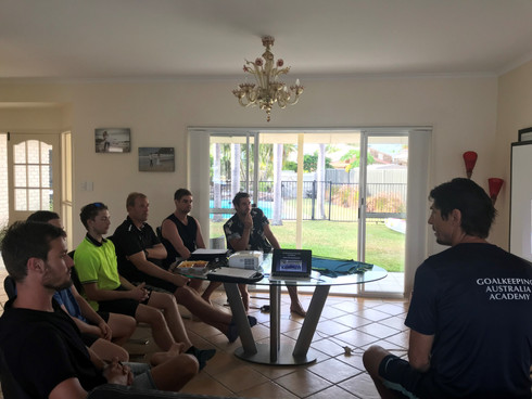 Goalkeeping Australia Academy Sunshine Coast Coaches Planning Meeting 2018