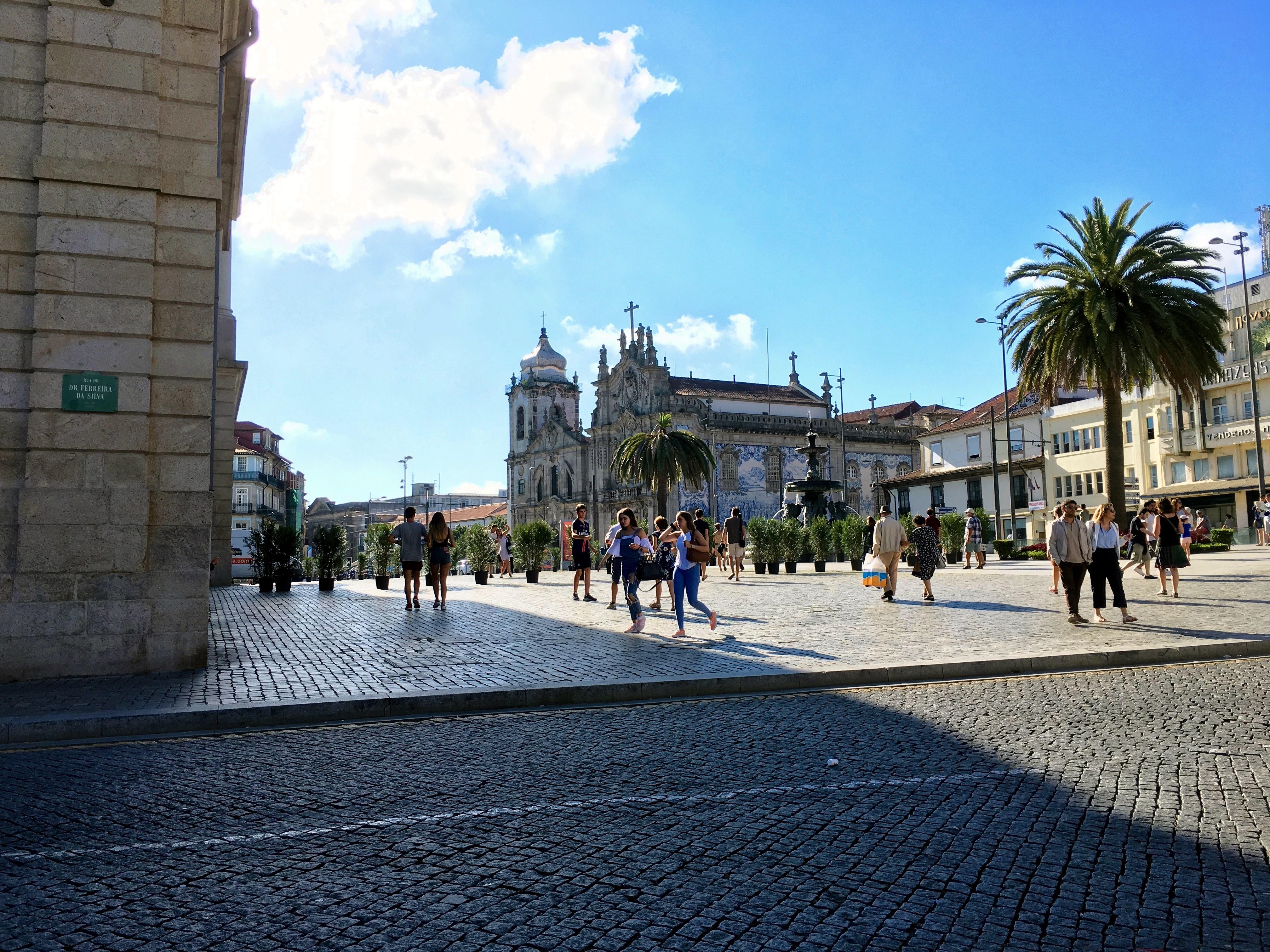 Fonte dos Leões - Porto