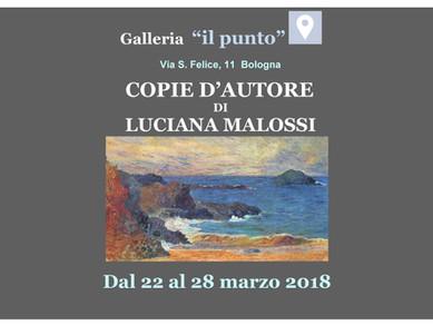 Galleria Il Punto: vi invitiamo a visitare la mostra dell'artista Luciana Malossi