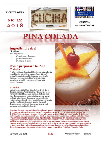 UN COCKTAIL PERFETTO PER L'ESTATE!