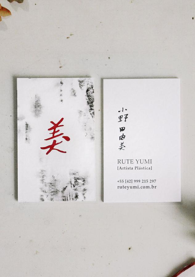 Cartão de visitas Rute Yumi