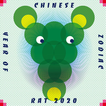 Chinese Zodiac Year of Rat 2020