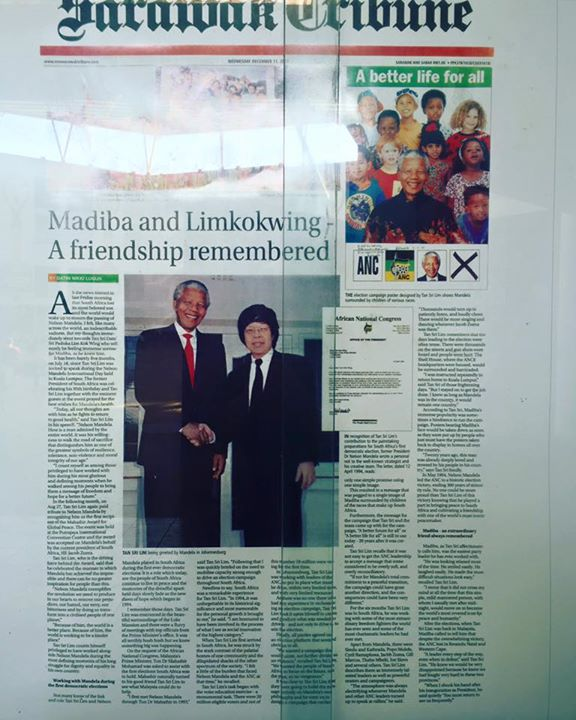 Funder Of Limkokwing University did Nelson Mandelas election Campagne when Mandela was running for president
