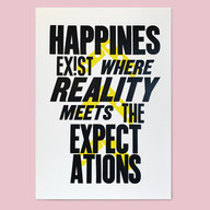 Poster Happines