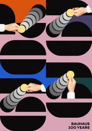 Poster Bauhaus 1919-2019 100 years anniversary
