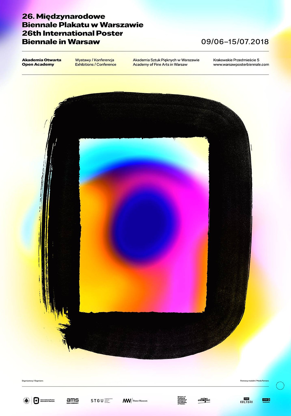Official Poster for the 26th International Poster Biennale Warsaw
