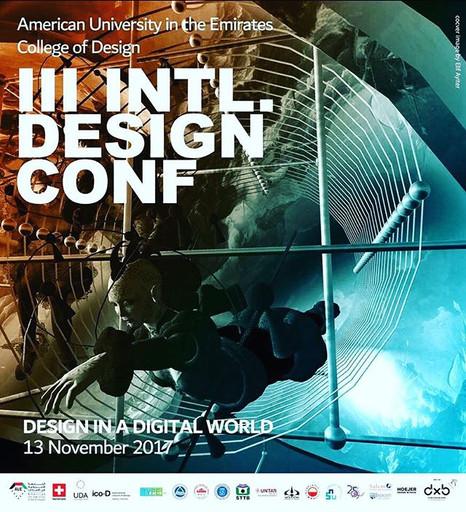 Conferrence tomorrow at Dubai Design Week #dubai #designweek #conferrence #exchange #knowledge #inspiration #theamericanuniversityindubai