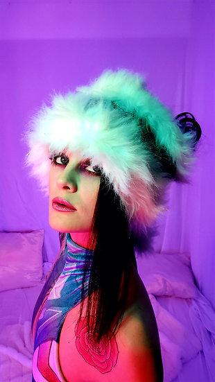 Raquel's Winter Splendor Furry Head Wrap