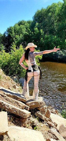 Cowgirl Mesh Tie Belles