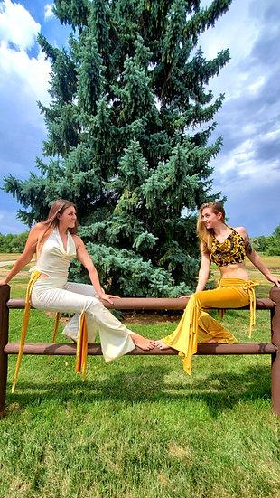 Royal Velvet High and Tie Sister Set