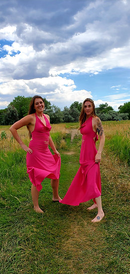Pink Sister Gowns